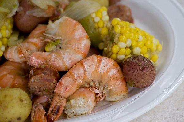 Low Country Shrimp Boil - Framed Cooks