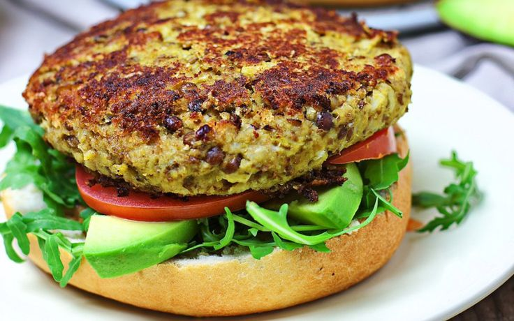 <p>The best veggie burger you'll ever make, in only five ingredients! A burger made with roasted cauliflower and lentils, topped with a homemade maple tahini sauce.</p>