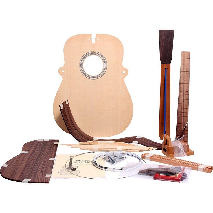 Martin Build Your Own Guitar Kit  Rwood Dreadnought Herringbone