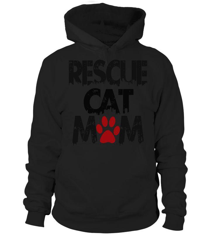 Rescue Cat Mom T Shirt By Sophialada  Funny Rescues T-shirt, Best Rescues T-shirt