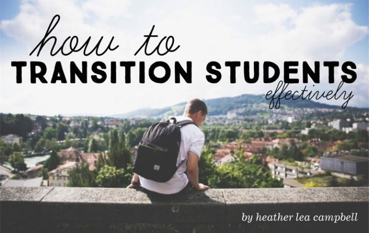 Excellent article from youth Specialties on transitioning students IN and OUT OF youth ministry.