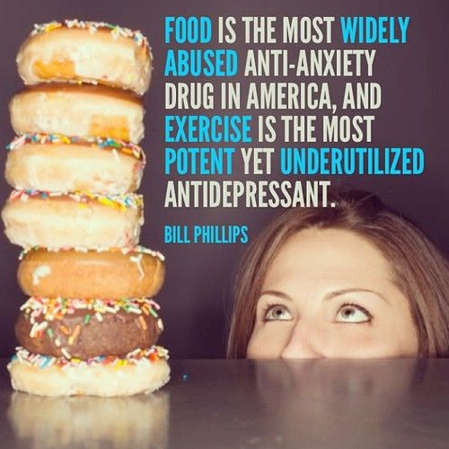 Food Is A Drug Exercise Is An Antidepressant from Starling Fitness