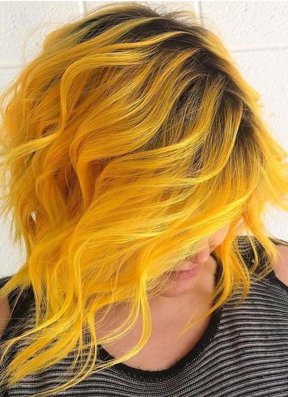 Fantastic Mermaid Yellow Hair Colors Shades For 2019 Yellow Hair Color Long Hair Styles Hair Styles