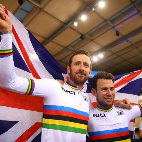 Bradley Wiggins and Mark Cavendish 2016 Madison World Champions (Getty Images Sport)