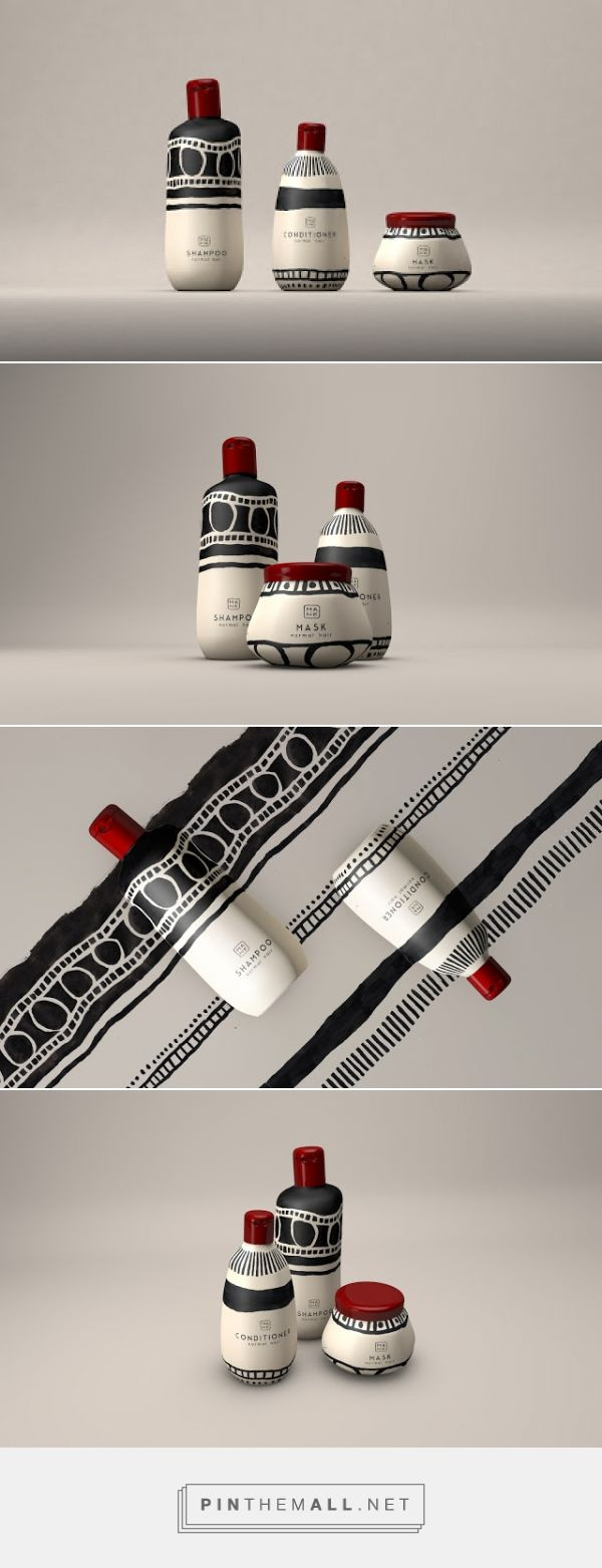 Mane Hair Products (Concept) on Packaging of the World - Creative Package Design Gallery - created via https://pinthemall.net