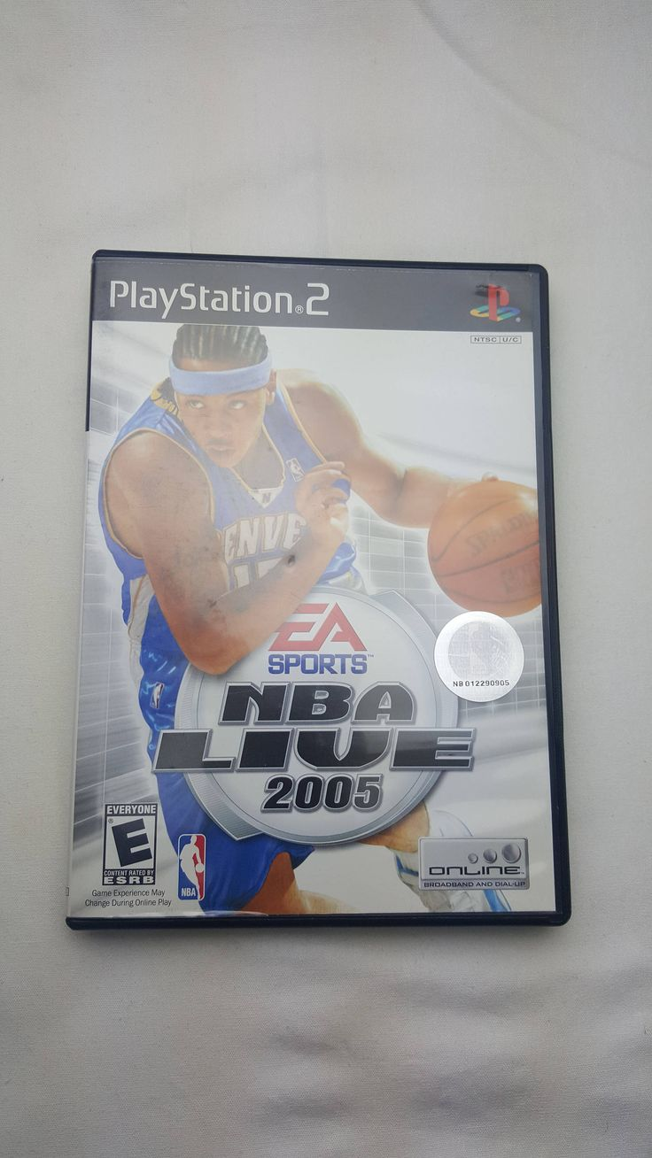 NBA Live 2005 by EA Sports for Sony PlayStation 2 (2004) Video Game