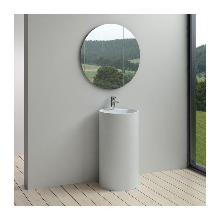 Très tendance, cette vasque colonne apportera du style à votre salle de…