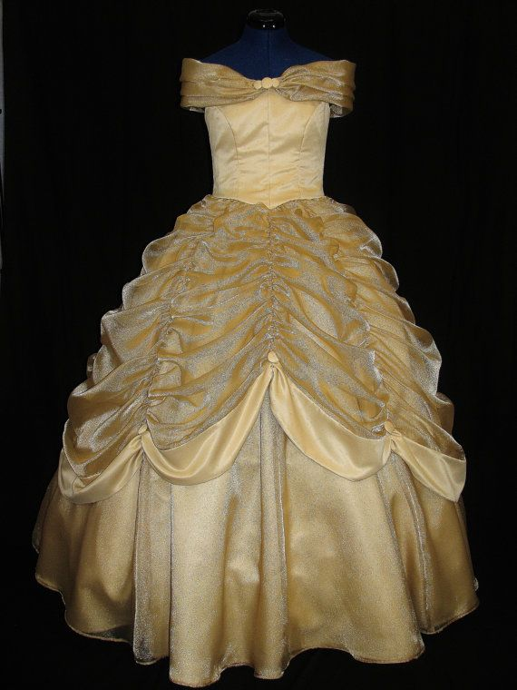 25 best ideas about adult belle costume on pinterest for Wedding dress like belle from beauty and the beast