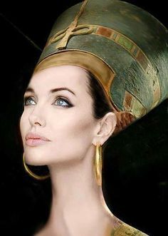 cleopatra movie angelina jolie - Google Search////this is inspired by nefertiti though