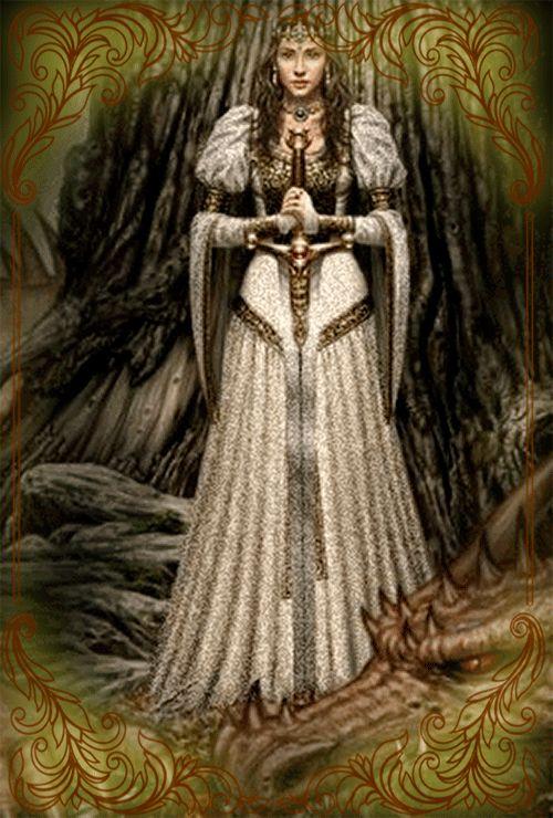 Принцесса и дракон картинки гифки