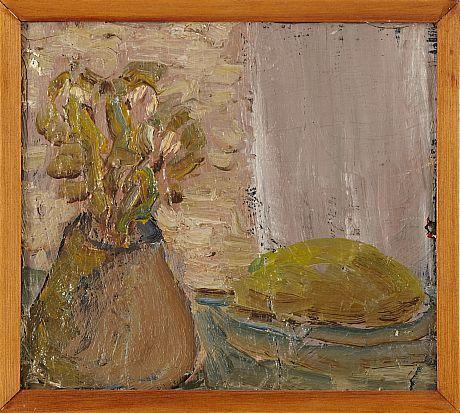 Evert Lundquist oljemålning