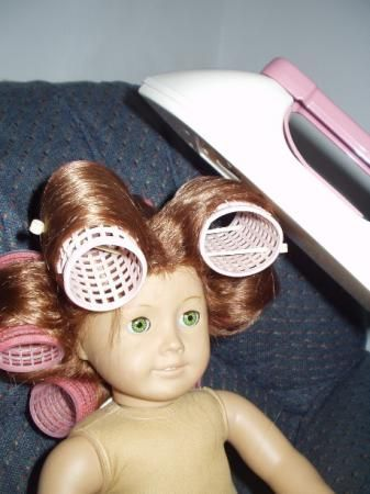 Just Magic: Advanced Hair Care for AG or OG dolls..or any doll with non-yarn type hair....very handy