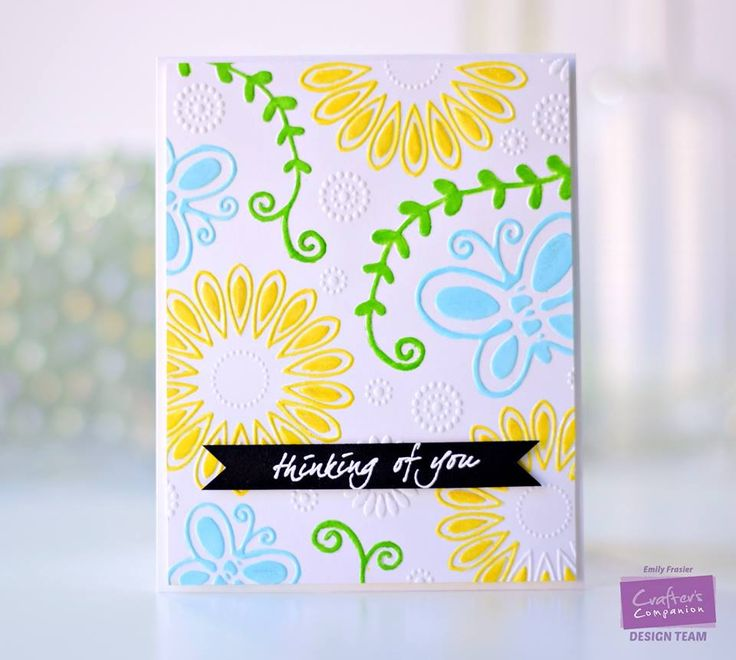 Created by Emily Frasier for Crafter's Companion using the Gemini electronic die-cutting & embossing machine #ccgemini