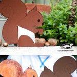 Squirrel+Crafts+for+Kids