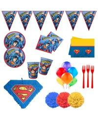 Superman 24 Kişilik Süper Parti Seti