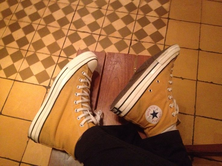 Converse 70's sunflower