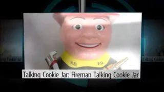 Fireman Talking Cookie Jar - YouTube
