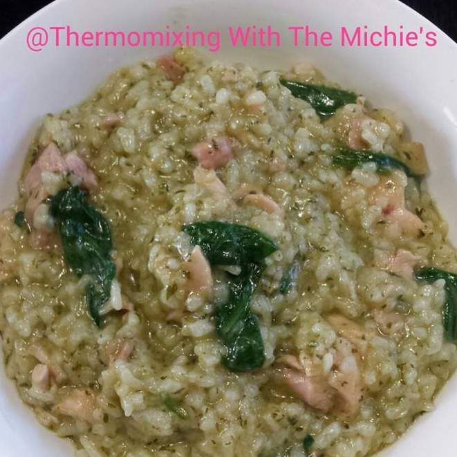 Recipe Chicken, Bacon & Spinach Risotto by PennyM - Recipe of category Main dishes - meat