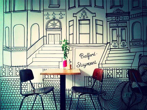 Bedford Stuyvesant Amsterdam: coffee spot Javastraat   http://www.yourlittleblackbook.me/bedford-stuyvesant-amsterdam/