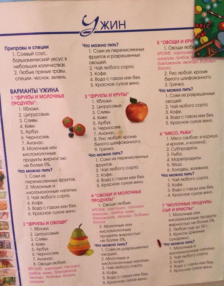 еда для худеющих рецепты фото