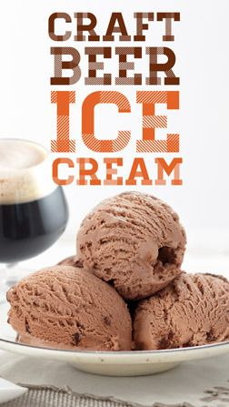 I Scream, You Scream: It's Craft Beer Ice Cream! I think I have died and gone to heaven. The link also has additional links to recipes!