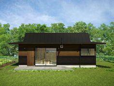 小さな家。計画 - プロダクトハウスの紹介 - 九州限定プラン | 005 半農半居