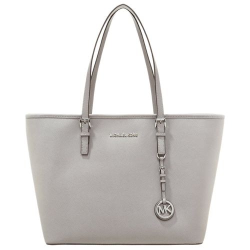 MICHAEL Michael Kors JET SET TRAVEL - Shopping Bag - pearl grey