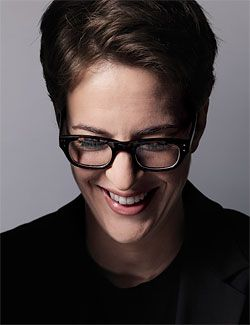 Rachel Maddow is one of the smartest people in the biz and always brings an intelligent point of view to her commentary.