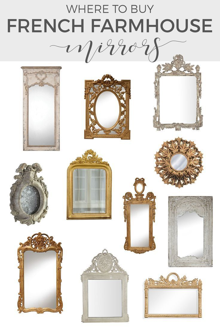 Decorative Mirrors Adding French Country Charm With Gilded Mirrors French Country Mirrors French Country Bedrooms French Country Design