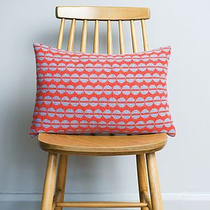 Knitted Spot Cushion - soft furnishings