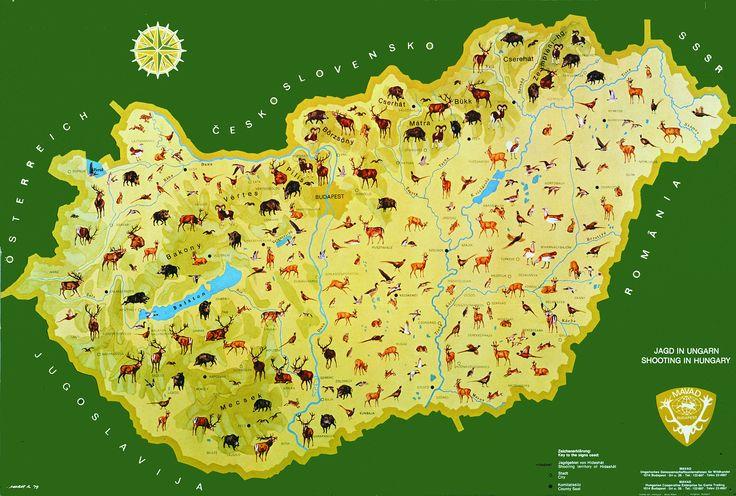 Magyarország vadászati térképe - Muray Róbert – Wikipédia