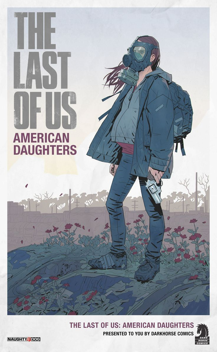 Parts of a poster design - The Last Of Us American Daughters Richard Lyons On Artstation At Https