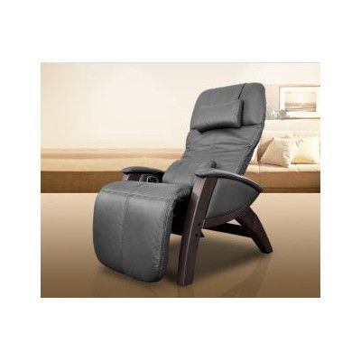 Cozzia Svago Benessere Massage Chair Upholstery: Chocolate / Dark Walnut