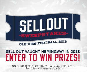 Ole Miss- Football Season Tickets Sweepstakes