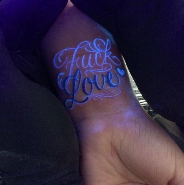 The Best Glow Tattoo Ideas On Pinterest Firework Tattoo - 30 creative black light tattoos you can see only under uv light 8 is what i call amazing