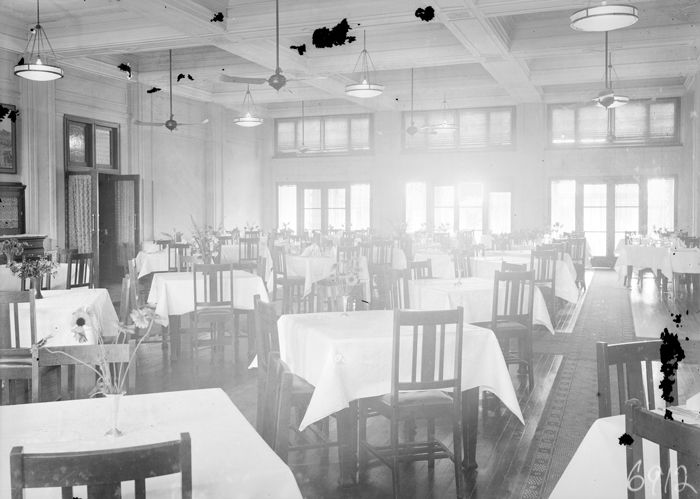 The Dining Room in 1933