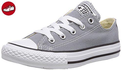 Converse Chuck Taylor All Star Ox, Damen Sneaker  Grau grau 32 - Converse schuhe (*Partner-Link)