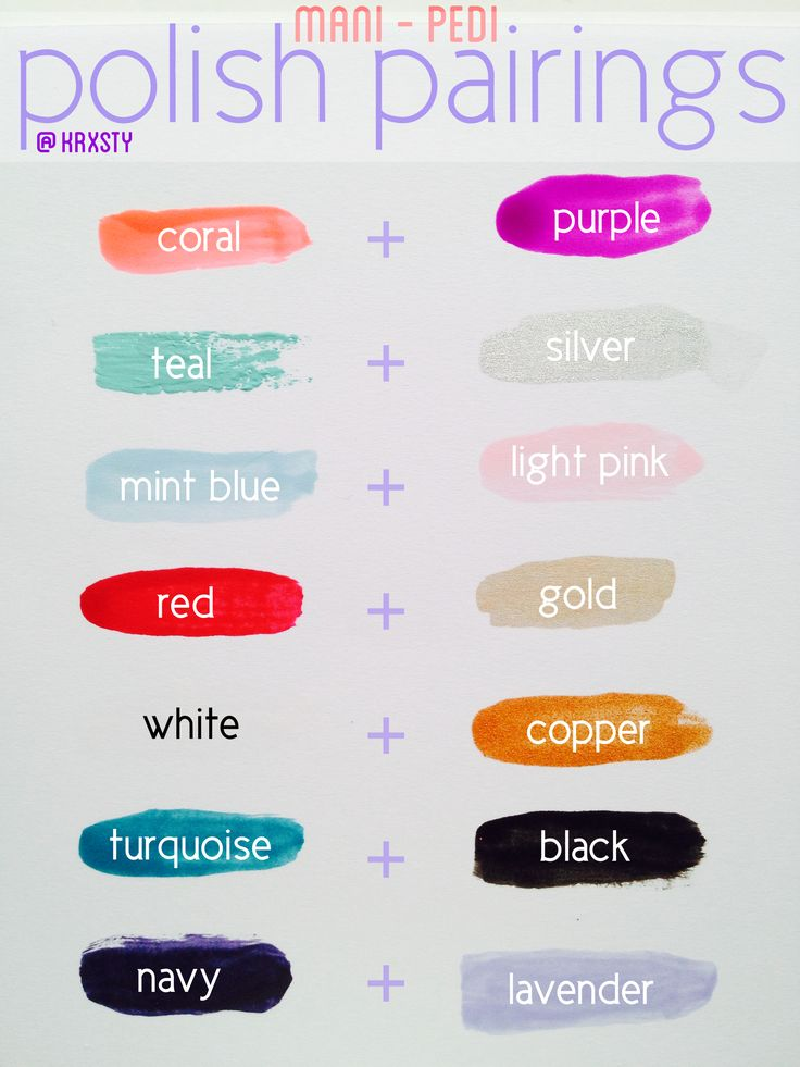 Nail Polish Colors That Go Together
