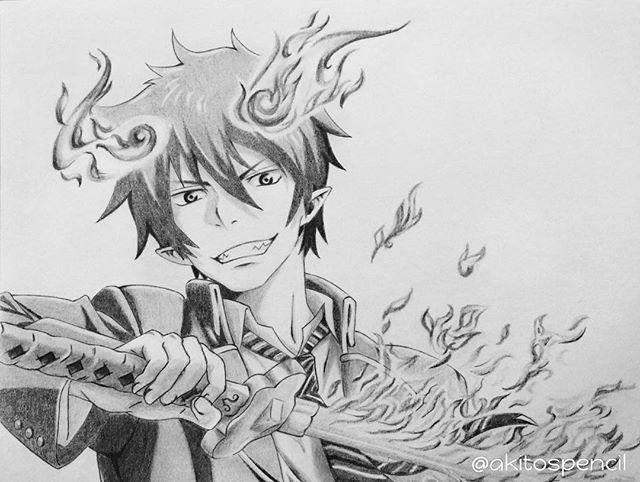 Rin Okumura, Son of Satan from Ao no Exorcist  What do you guys think?  #rinokumura #blueexorcist #aonoexorcist