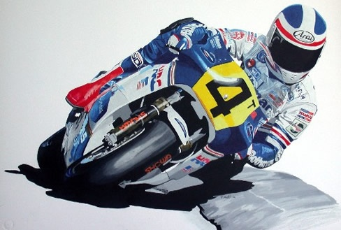 Racing Cafè: Motorcycle Art - Jason Watt