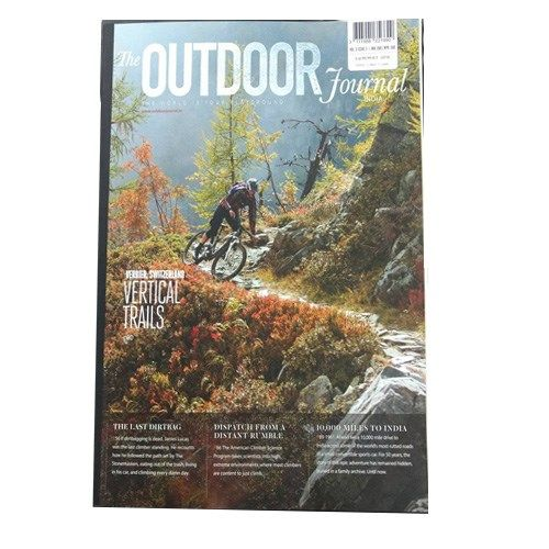 The Outdoor Journal  Description  The Outdoor Journal (VOL.3 ISSUE 3, Summer 2016) quarterly print edition showcases the finest writing and photography from the world of adventure sports, fitness, outdoor pursuits, nature and wilderness. INR 200 buy now:http://bit.ly/2aJwc8g