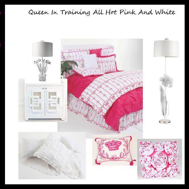 Teen bedrooms cool hot pink