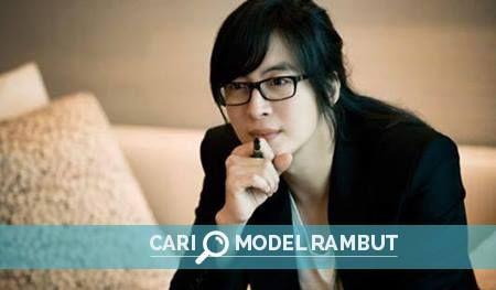 Gaya Rambut Panjang Korea : Bae Yong Joon