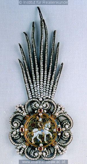 Reiter (A horseman hat pin), c. 1535-1545.