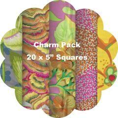 "YELLOW #1 - 20 Charm Squares 5"" x 5"" – TUPPY'S AUSSIE FABRICS"