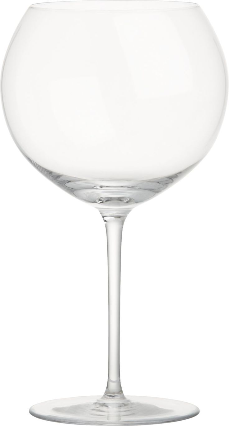 Vineyard 26 oz. Burgundy Wine Glass from Crate and Barrel. $19.95. // gotta have those Olivia Pope wine glasses.
