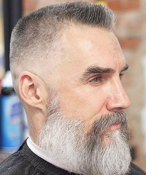 25 Best Hairstyles For Older Men 2019