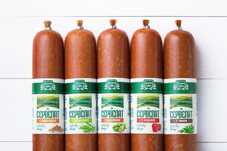 TheBestPackaging.ru – Долина Зубра – мясные продукты от Fabula Branding