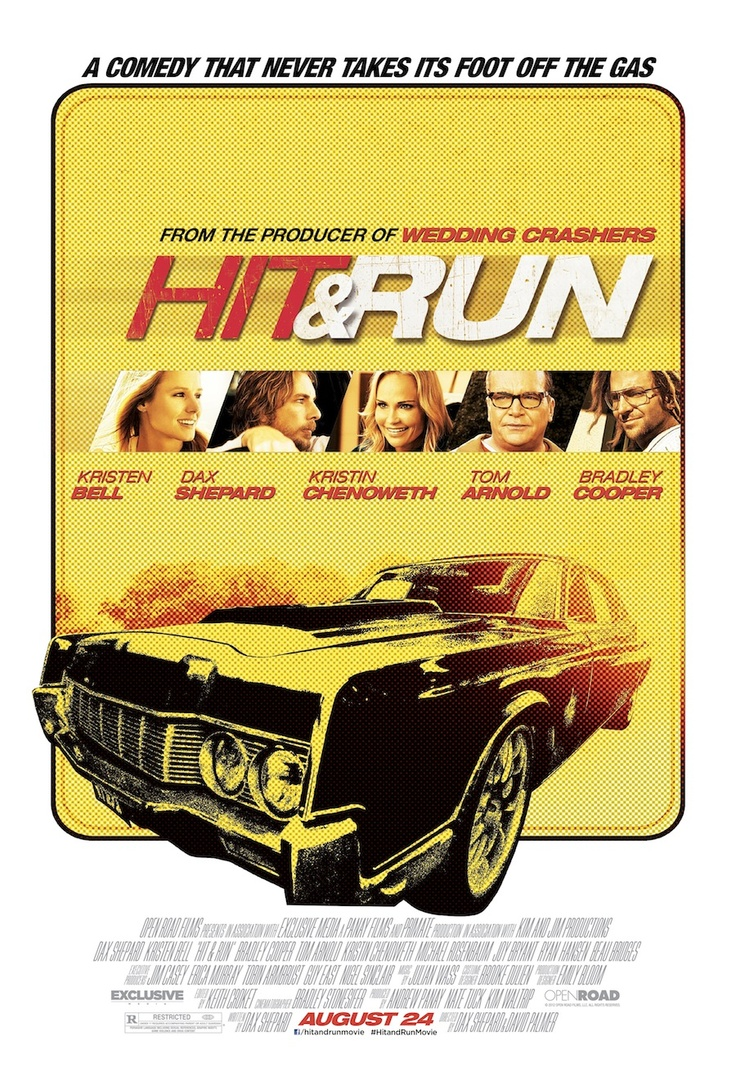 Hit And Run! kristen and dax, joy bryant, bradley cooper, and ryan hansen - my veronica mars and parenthood loves in one plus an amazing soundtrack? good heavens!