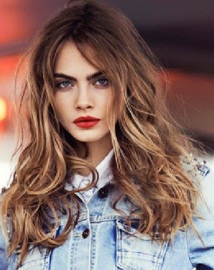 Light Brown Hair With Golden Blonde Highlights Cara